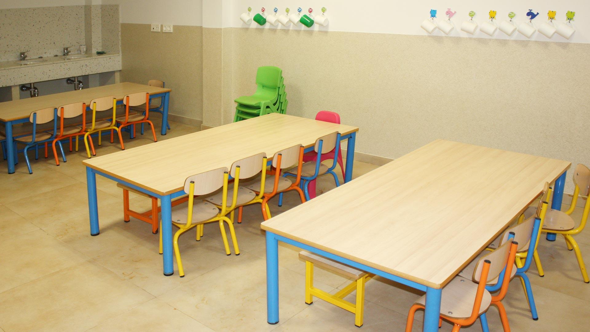 Comedor - Imagen de galería del Centro de Educación Infantil Gibralfaro