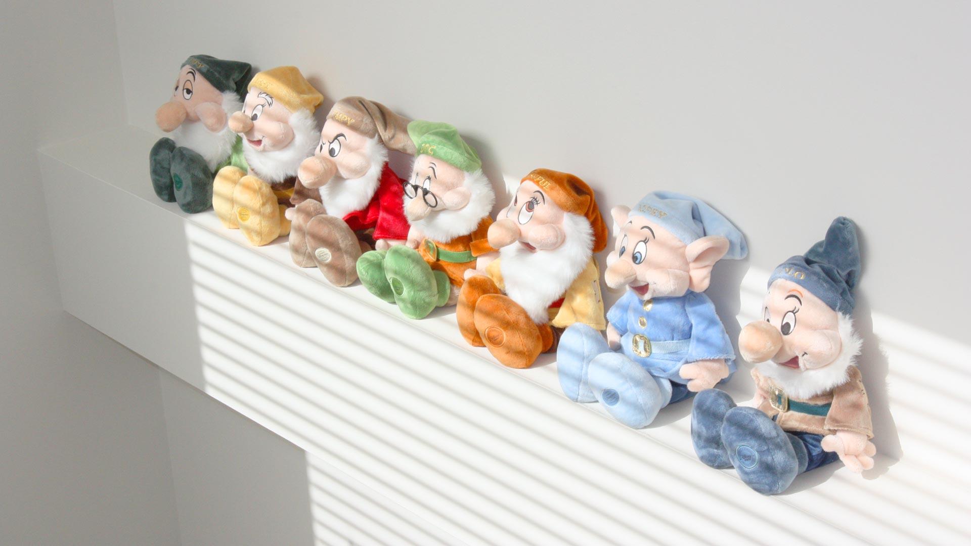 Detalle de peluches - Imagen de galería del Centro de Educación Infantil Gibralfaro