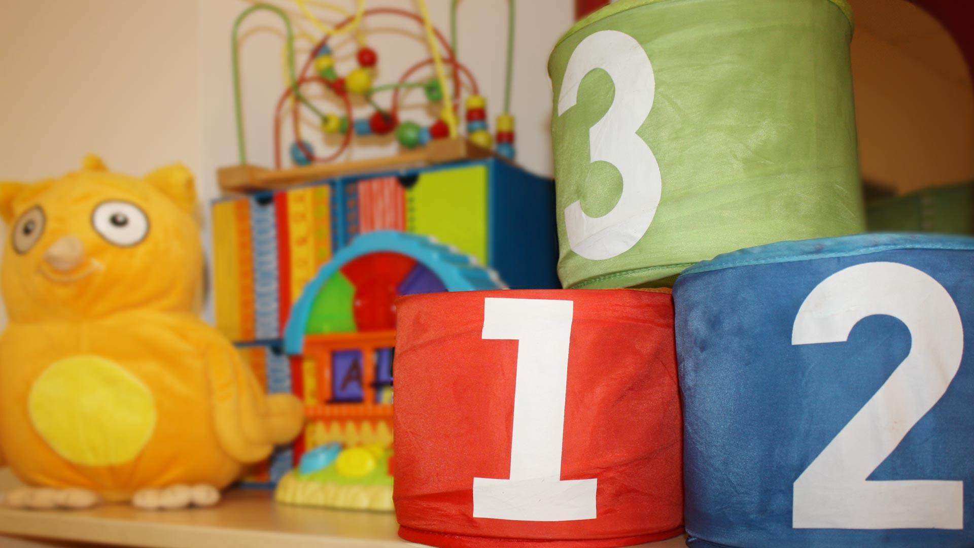 Detalle de juguetes - Imagen de galería del Centro de Educación Infantil Gibralfaro