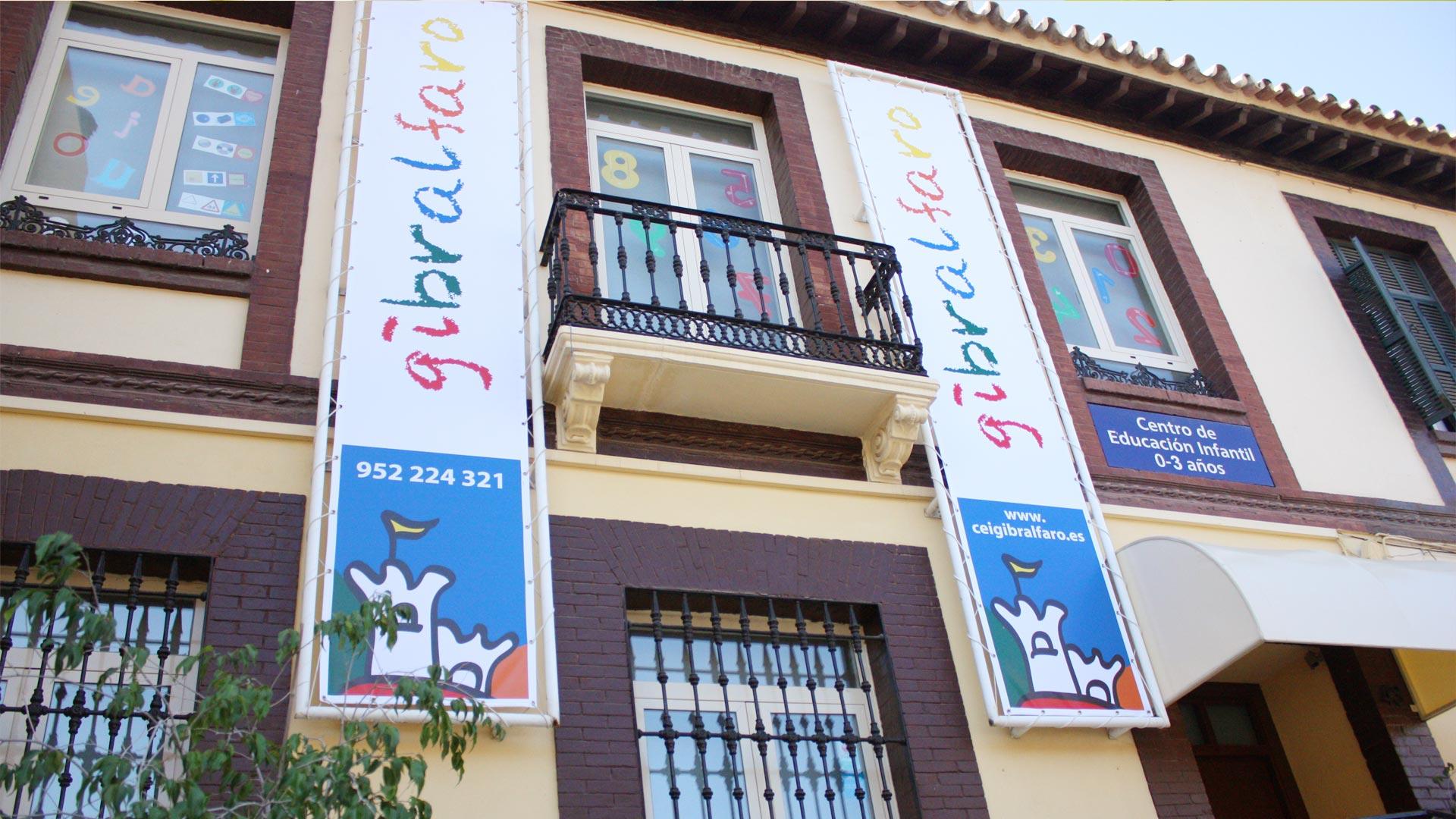 Fachada - Imagen de galería del Centro de Educación Infantil Gibralfaro